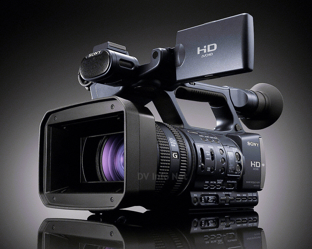 Sony Video Camera Lens Sony Hxr Nx5u And Hdr Ax2000 Camcorder At